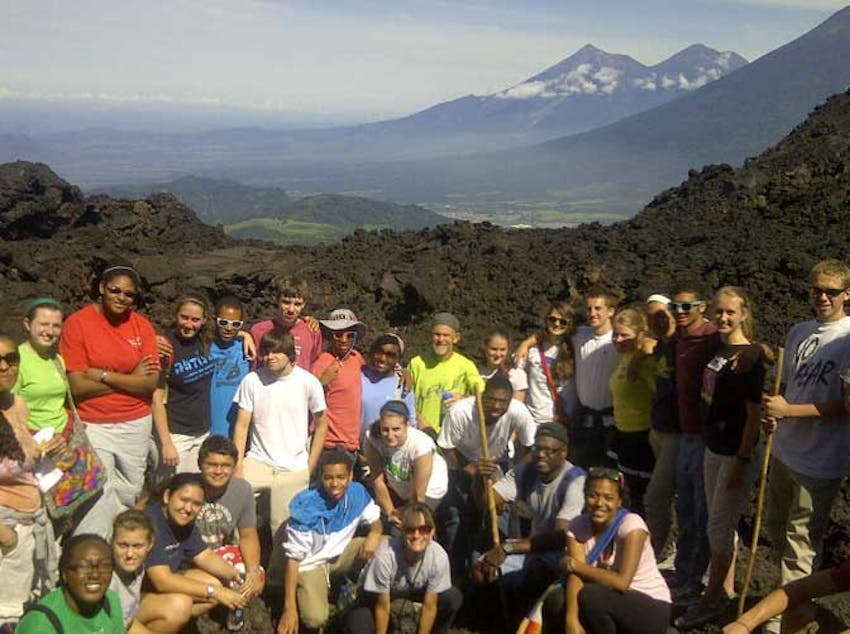 Visiting Pacaya Volcano as an IVHQ volunteer in Guatemala