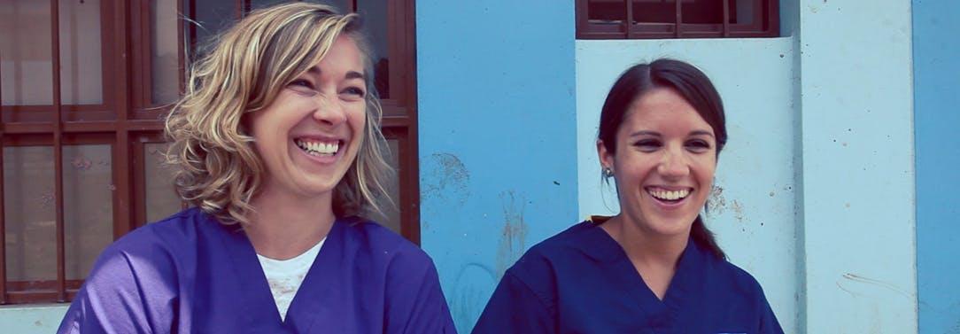 IVHQ Medical volunteers in Peru