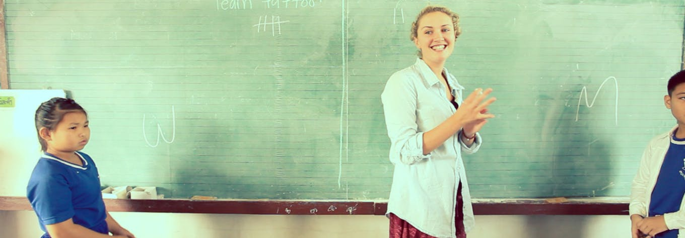 Join an online TEFL course with CCELT and International Volunteer HQ