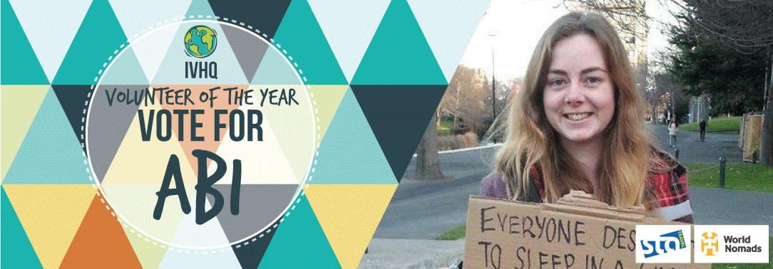 IVHQ Volunteer of the Year Finalist - Abigail