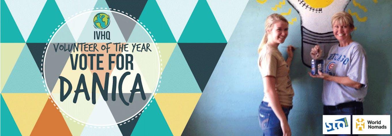 Danica Hubbard - IVHQ Volunteer of the Year Finalist