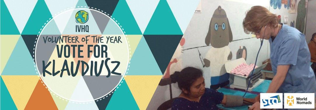 IVHQ Volunteer of the Year Finalist - Klaudiusz