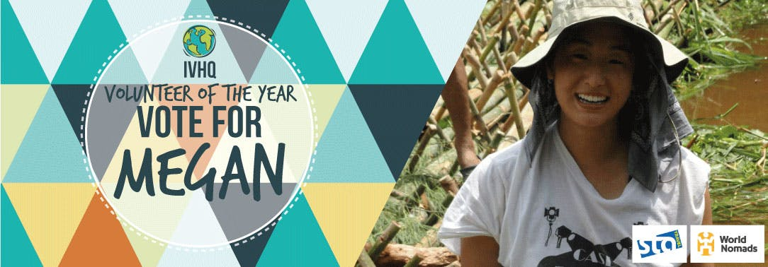 IVHQ Volunteer of the Year Finalist - Megan Huey
