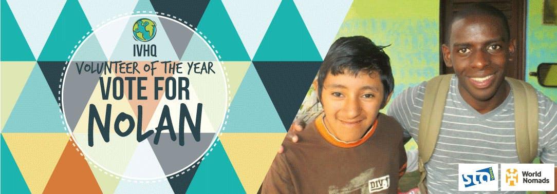 IVHQ Volunteer of the Year Finalist - Nolan
