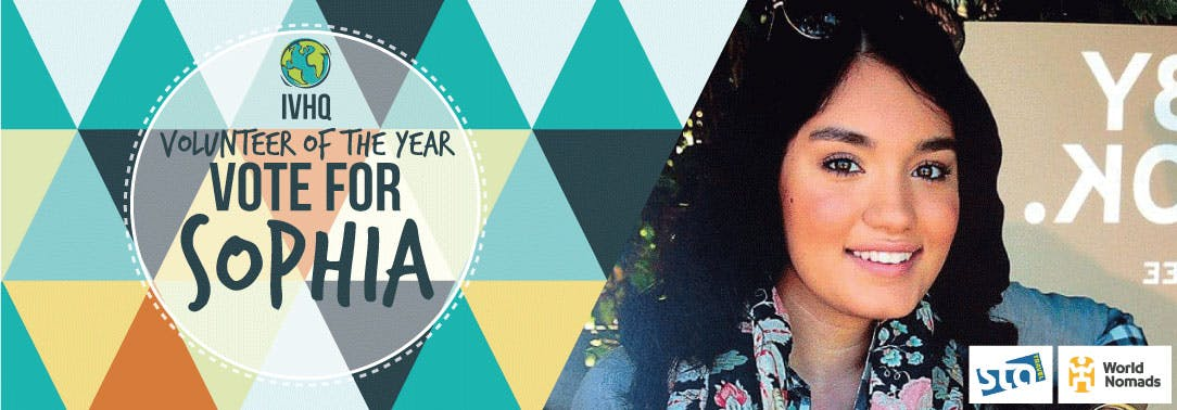 IVHQ Volunteer of the Year Finalist - Sophia Qaderi