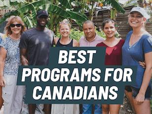 Best volunteer abroad programs for Canadians