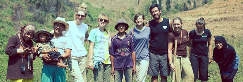 Volunteer abroad with IVHQ as a group
