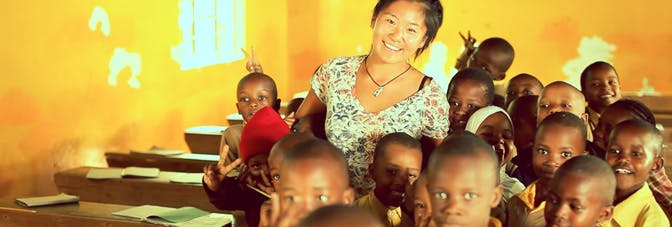 Volunteer teacher in Tanzania with International Volunteer HQ