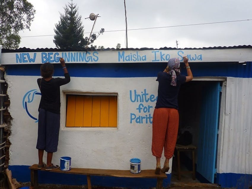 IVHQ supports New Beginnings in Kenya with a Booster Grant