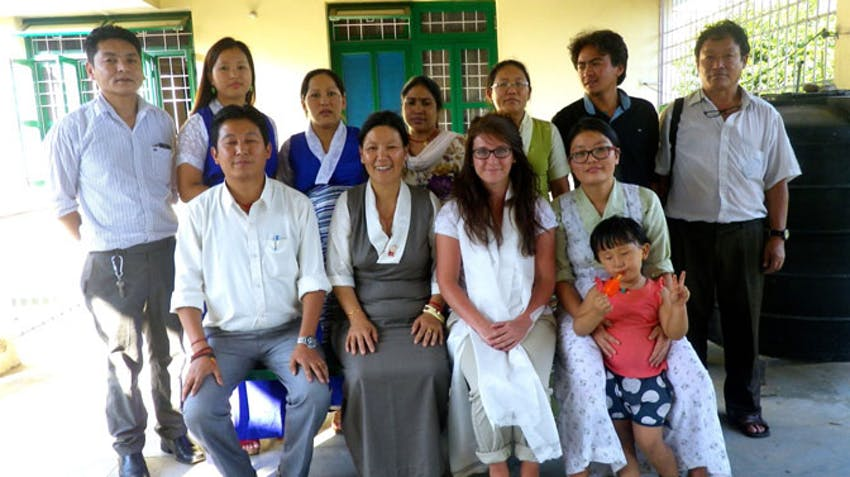 Tibetan Primary Health Care Centre in Bir - IVHQ Booster Grants