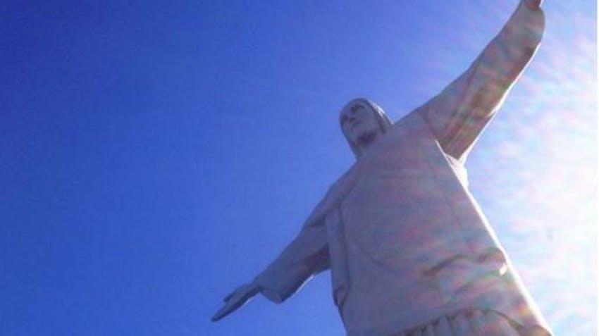 Visiting CRISTO REDENTOR as an IVHQ volunteer in Brazil