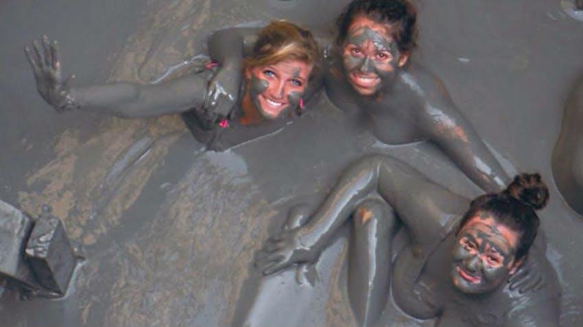 Have a mud bath in El Totumo Volcano as an IVHQ volunteer