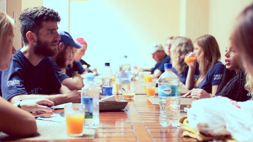 Friendship volunteer abroad in Ecuador with International Volunteer HQ