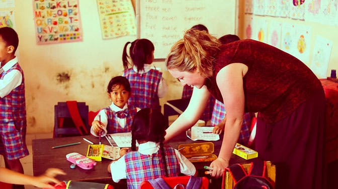 Affordable childcare in Bali with International Volunteer HQ