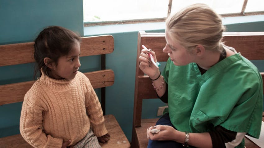 IVHQ medical campaign volunteer