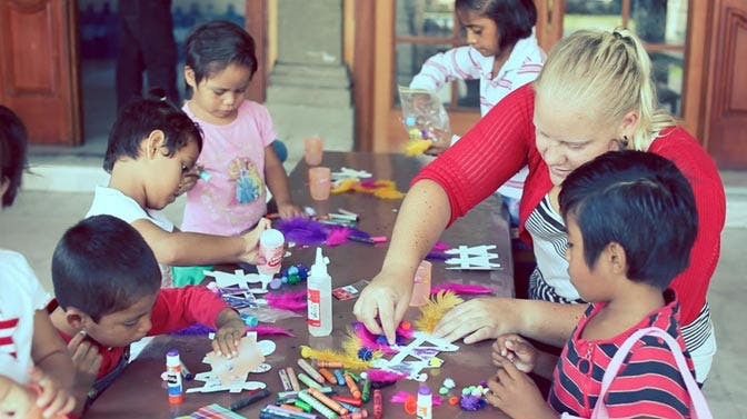Volunteer abroad in Mexico working with children with IVHQ