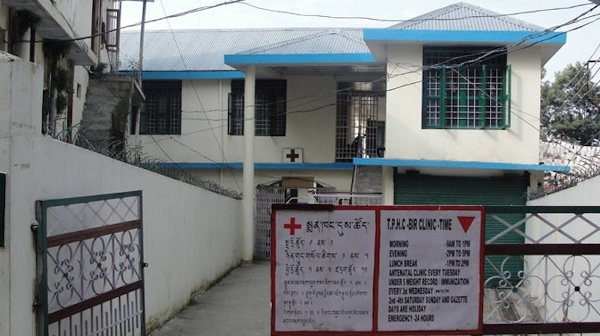 A Tibetan Primary Health Clinic which IVHQ supported with a Booster Grant