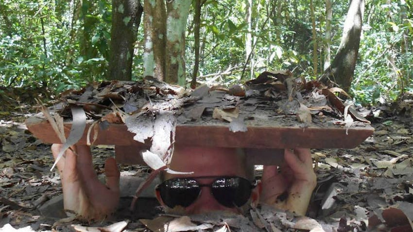 Visit the CuChi tunnels as a volunteer in Vietnam with IVHQ