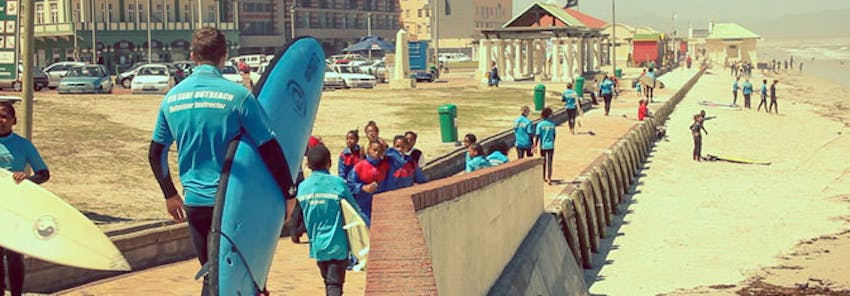 Volunteer abroad as a surf instructor in South Africa with IVHQ