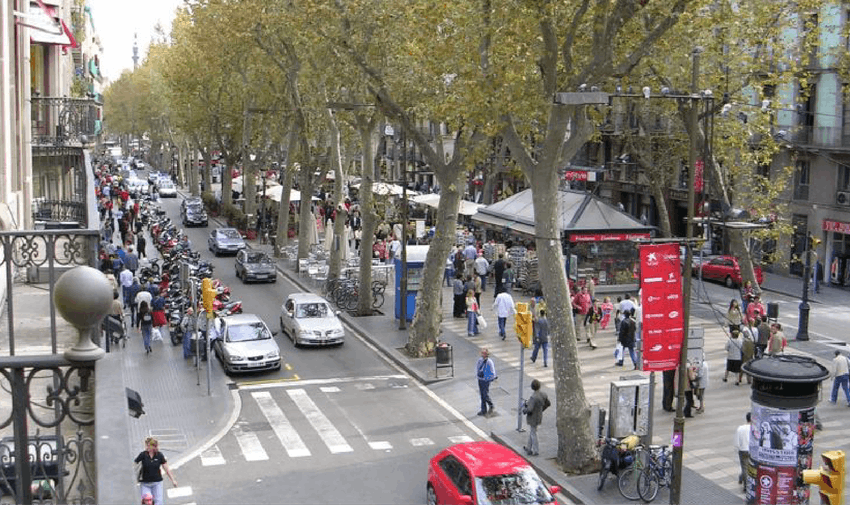 Travel and Tours in Barcelona with IVHQ - La Ramblas