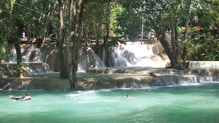 Visit Luang Prabang during some spare time in the weekend