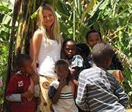 IVHQ Volunteer of the Year finalist Linnea Lundgren