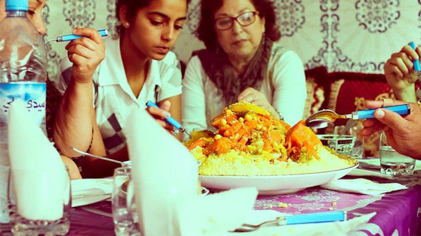 Tasting the Moroccan cuisine as an IVHQ volunteer in Marrakech