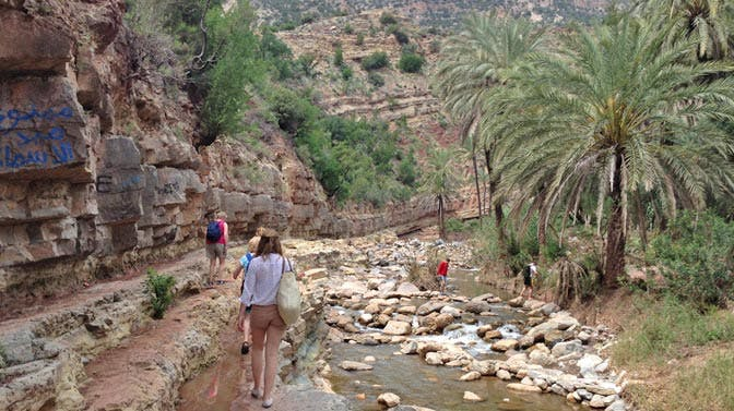Take a walking tour through Marrakech as an IVHQ volunteer