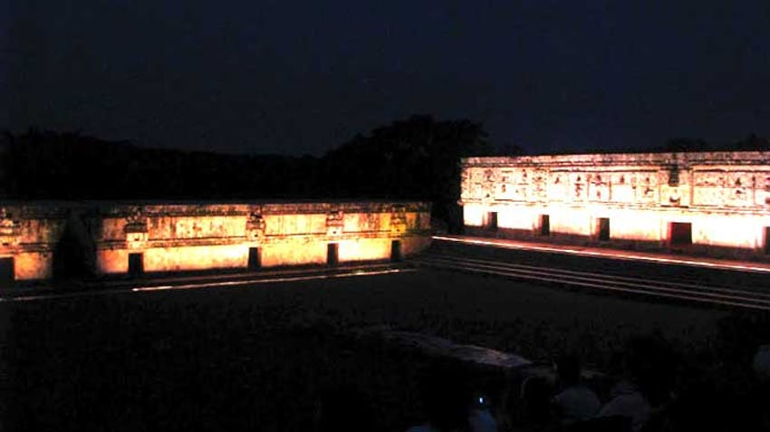 View the Uxmal Light and Sounds Show as an IVHQ volunteer in Mexico