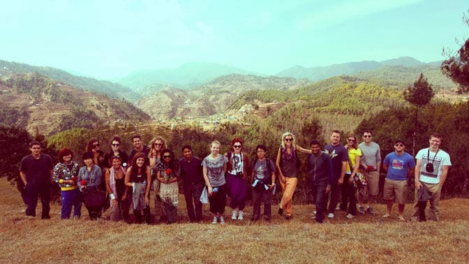 Volunteer abroad as a group with IVHQ in Nepal