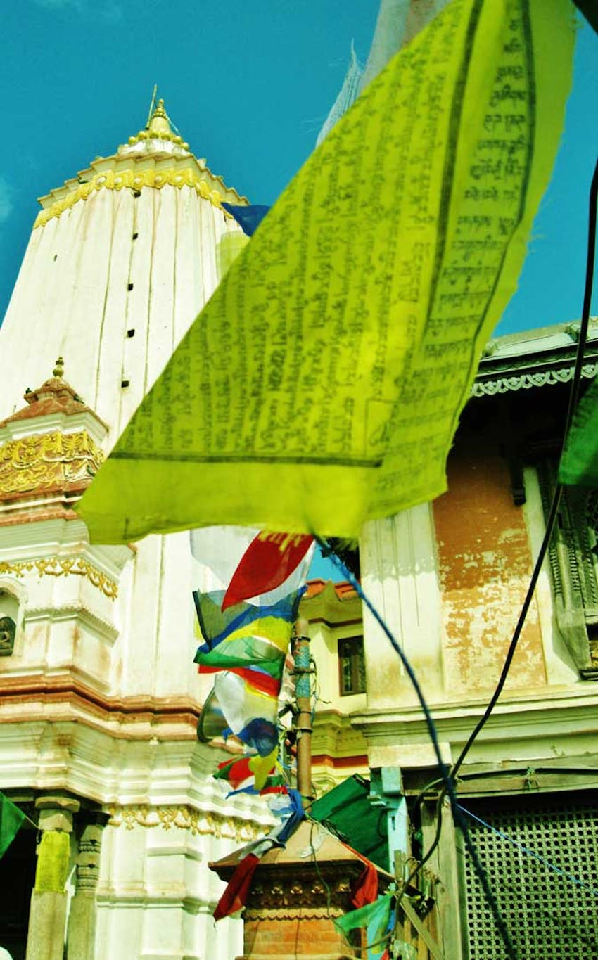 Visit Boudhanath Stupa while volunteering in Nepal with IVHQ