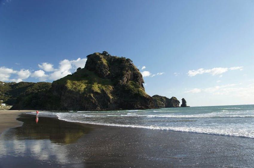 Visit one of New Zealand many beaches while volunteering in New Zealand with IVHQ