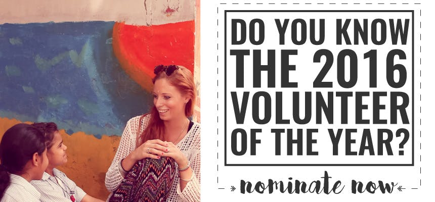 Nominate your volunteer of the year