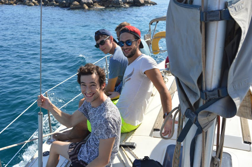 Go sailing in Greece with IVHQ