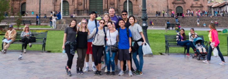 service trips for college students