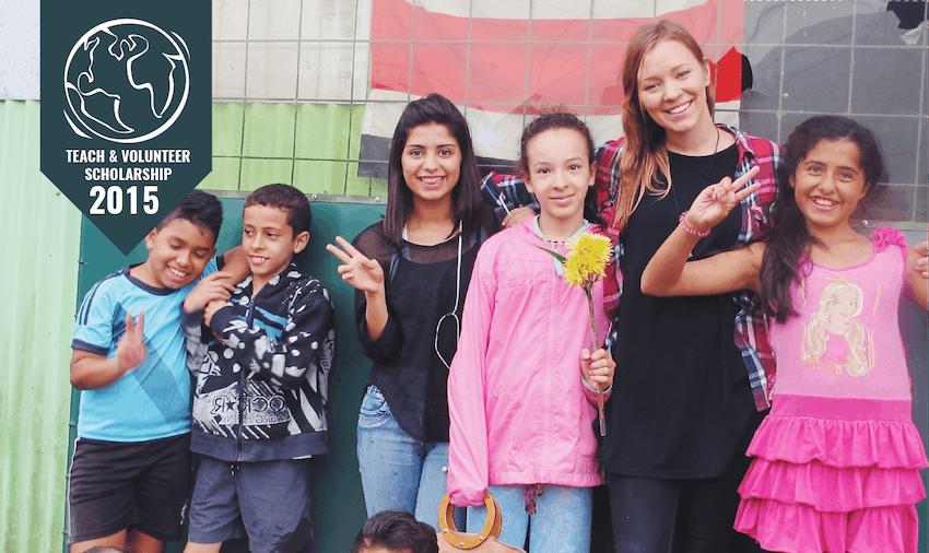 IVHQ Teach & Volunteer Abroad Scholarship winner 2015