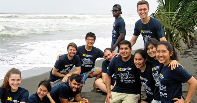 IVHQ - University of Michigan Honours Group - Volunteer abroad as a group