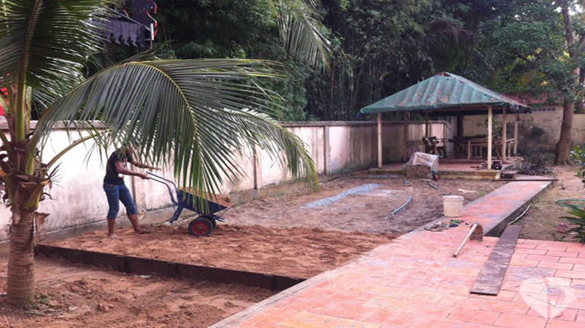 Work begins on Project Life's Vegetable Garden