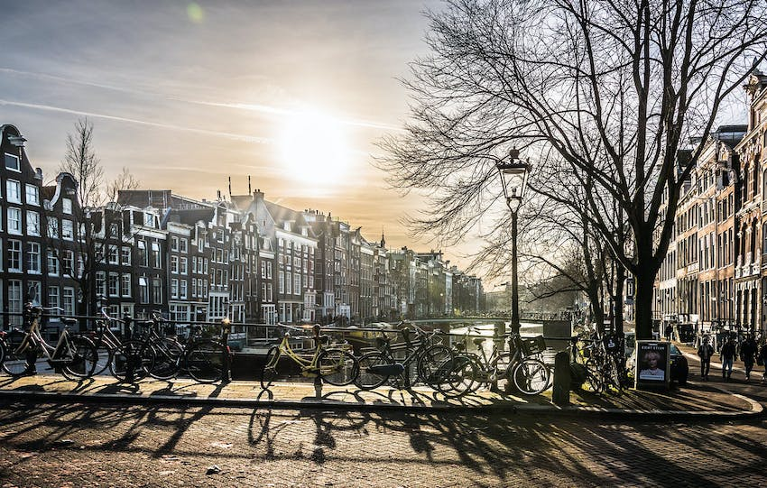 Visiting Amsterdam with IVHQ in Belgium