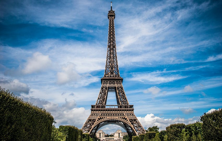 Visiting Paris with IVHQ in Belgium