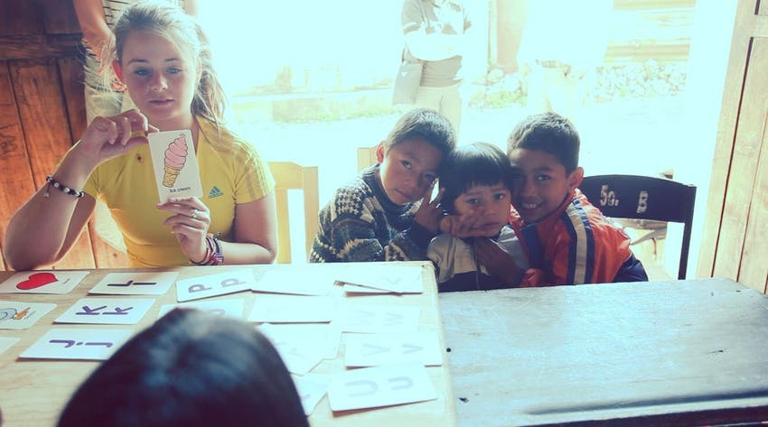 Volunteer abroad as a High School student in Guatemala with IVHQ