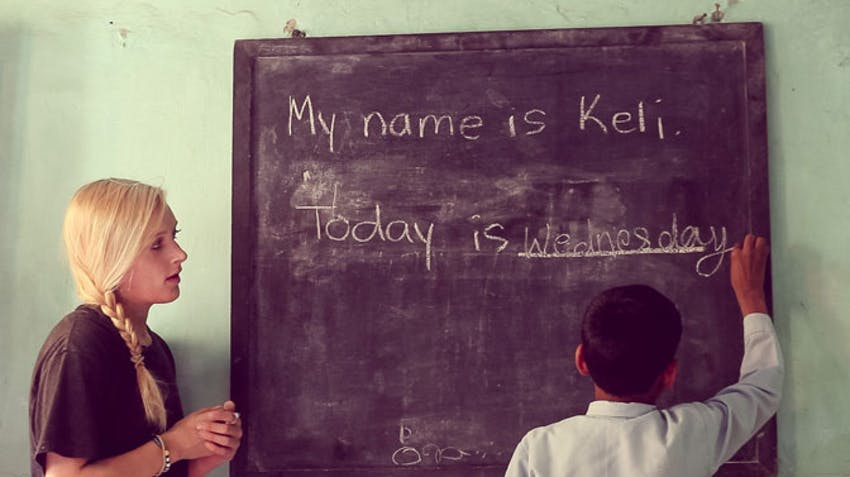 Safety teach English in India volunteer abroad with International Volunteer HQ