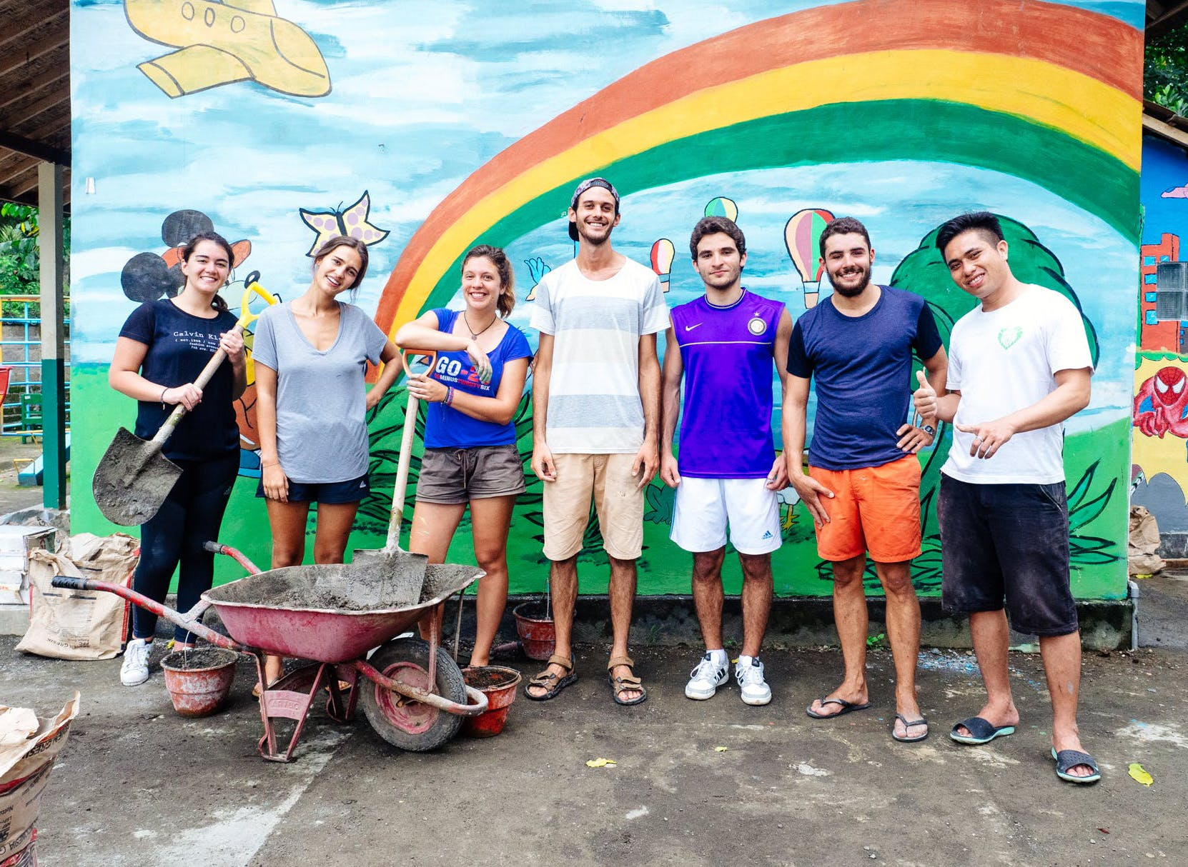 Construction & Renovation Volunteer Projects Abroad