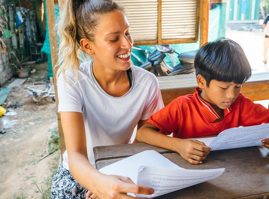 Childcare Volunteer Program in Cambodia