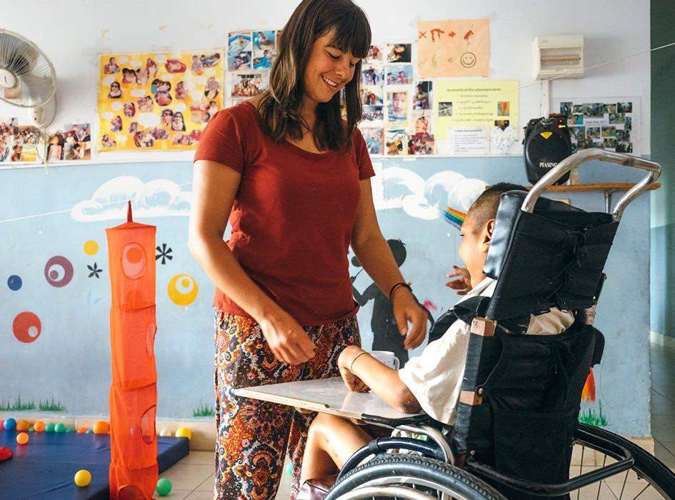 Special Needs Care Volunteer Program in Cambodia