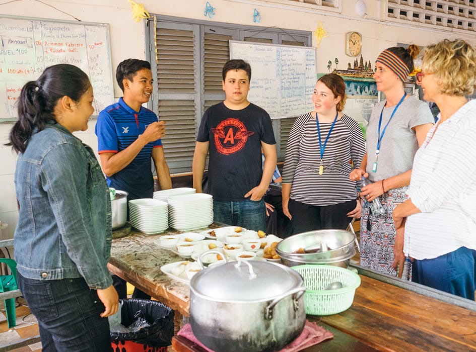 Volunteer Work with NGOs in Cambodia
