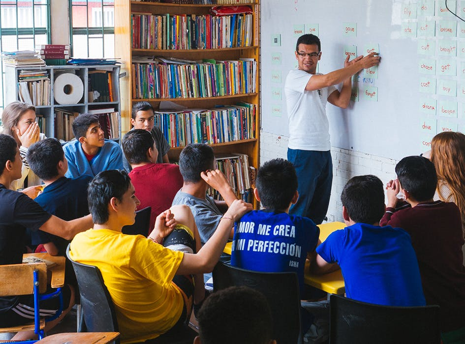 English Teaching Volunteer Project in Colombia - Bogota