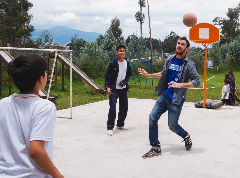 Physical Education Volunteer Project in Ecuador - Quito