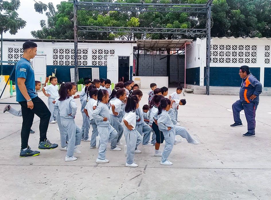 Sports Education Volunteer Program in Ecuador - Santa Elena