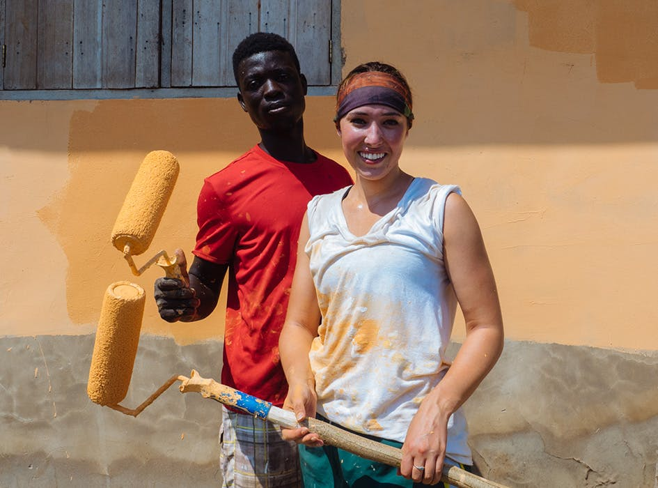 Construction and Renovation Volunteer Project in Ghana - Accra Region